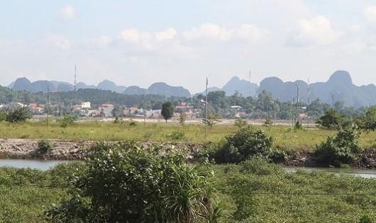 Dự án khu đô thị Đồn Điền vẫn chỉ là bãi đất trống.