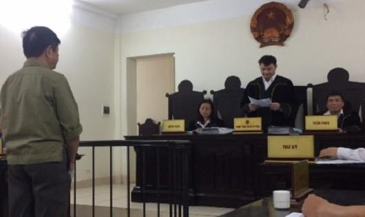 Bị cáo Thành tại phiên xử phúc thẩm.