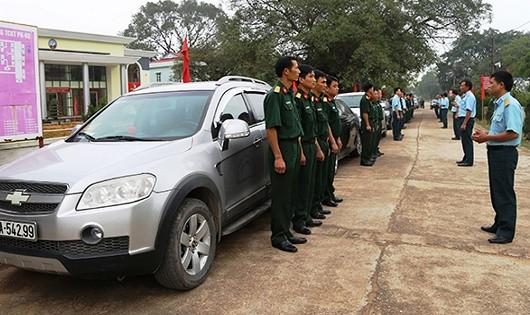 Chuẩn bị huấn luyện đường dài cho các học viên lái xe phục vụ APEC.