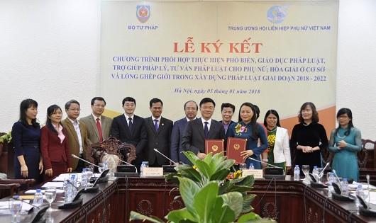 Chương trình phối hợp giai đoạn 2018-2022 vừa được 2 ngành ký kết.