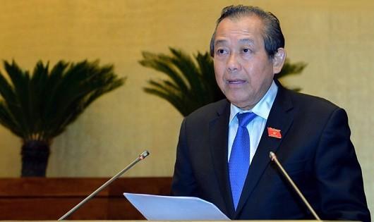 Phó Thủ tướng Thường trực Chính phủ Trương Hoà Bình