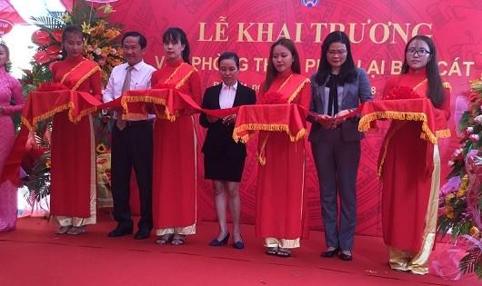 Khai trương Văn phòng Thừa phát lại Bến Cát, Bình Dương.