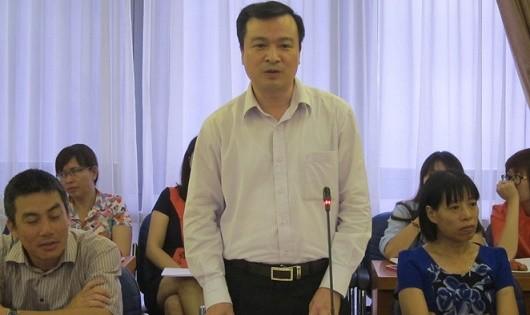 Vụ trưởng Nguyễn Hồng Tuyến