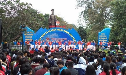 Hà Nội: Nhiều hoạt động nhân tháng Thanh niên