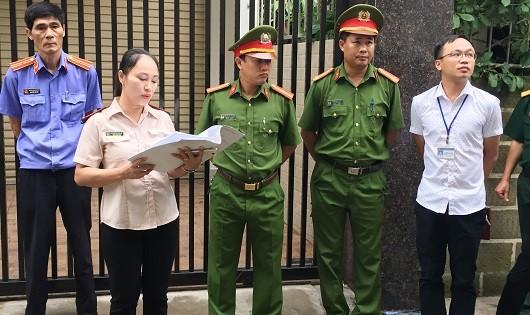 Thành phố Vinh (Nghệ An): Làm tốt công tác vận động thuyết phục đương sự trong cưỡng chế thi hành án