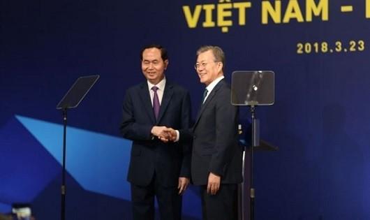 Việt Nam - Hàn Quốc: Phấn đấu đạt mục tiêu kim ngạch thương mại 100 tỷ USD