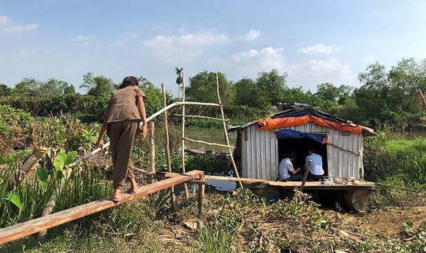 Dự án của Dona.Coop đẩy hàng ngàn dân vào cảnh điêu tàn: Nông dân mất đất ra bờ sông dựng lều nương náu!