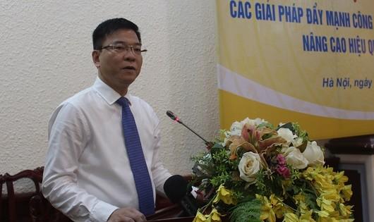 Bộ trưởng Lê Thành Long phát biểu tại Hội thảo.