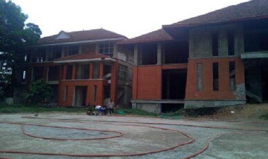 Khu tổ hợp dịch vụ Quỳnh Anh ở tổ 17, phường Phan Đình Phùng, TP Thái Nguyên.