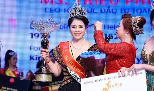 Hoa hậu lừa đảo Nguyễn Thị Nhung.