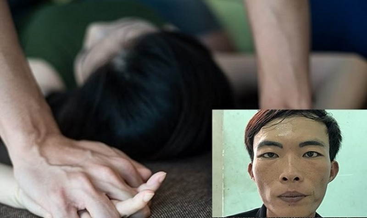 Đối tượng Thắng (hình nhỏ) hiếp dâm 2 phụ nữ