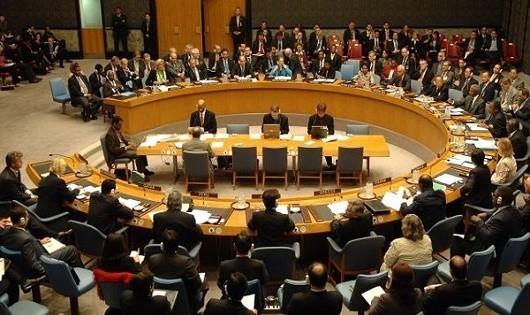 Một cuộc họp của Hội đồng Bảo an Liên Hợp Quốc. (ảnh: AFP).