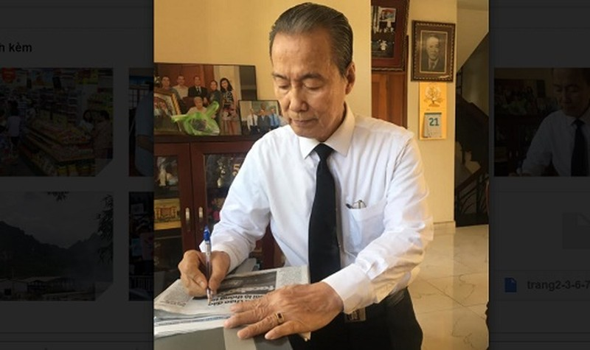 Ông Nguyễn Hữu Châu, Trưởng ban Công tác Mặt trận Khu phố 4, phường 7, quận 3, TP HCM; Ủy viên Hội đồng Tư vấn về văn hóa xã hội UBTƯ MTTQVN.