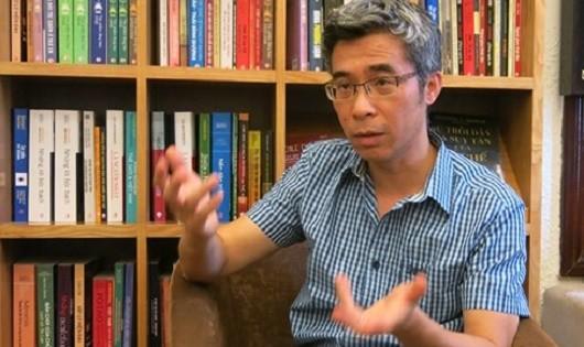 TS. Đặng Hoàng Giang trong một cuộc trò chuyện về 'Điểm đến của cuộc đời'.