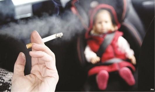 Tỉ lệ hút thuốc lá thụ động, tỷ lệ bị phơi nhiễm với khói thuốc lá tại nhà ở Việt Nam là 67% và tại nơi làm việc là 49%.