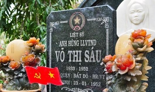 Lăng mộ chị Võ Thị Sáu