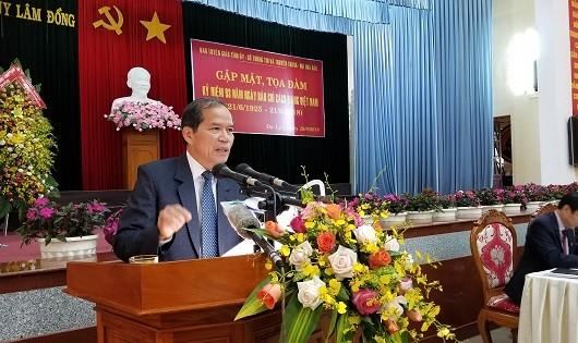 Bí thư Tỉnh ủy Lâm Đồng Nguyễn Xuân Tiến.