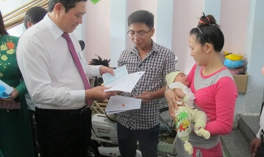 Hơn 1,2 triệu trẻ em  được cấp số định danh khi đăng ký khai sinh