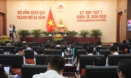 Ngày làm việc thứ 2, Kỳ họp thứ 7, HĐND TP. Đà Nẵng nhiệm kỳ 2016-2021.
