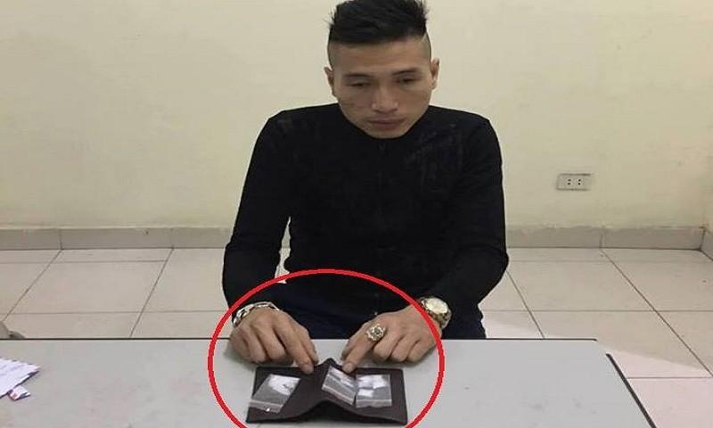 Giấu ma túy tổng hợp trong ví vẫn bị cảnh sát 141 tóm gọn