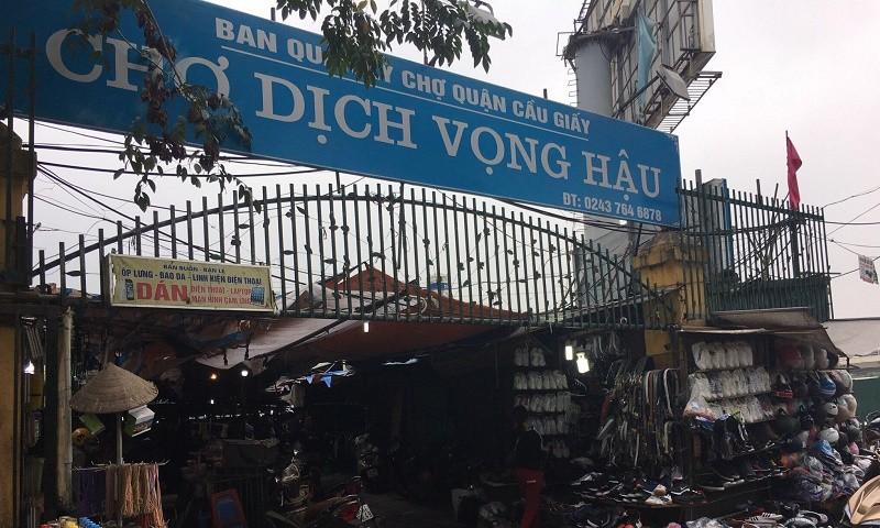 Hà Nội: Tiểu thương chợ Dịch Vọng Hậu cầu cứu vì chợ bị dẹp để xây tòa nhà cao tầng
