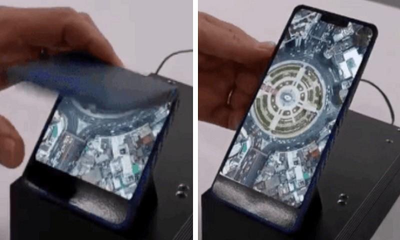 Samsung sắp ra mắt smartphone màn hình gập với thiết kế vỏ sò