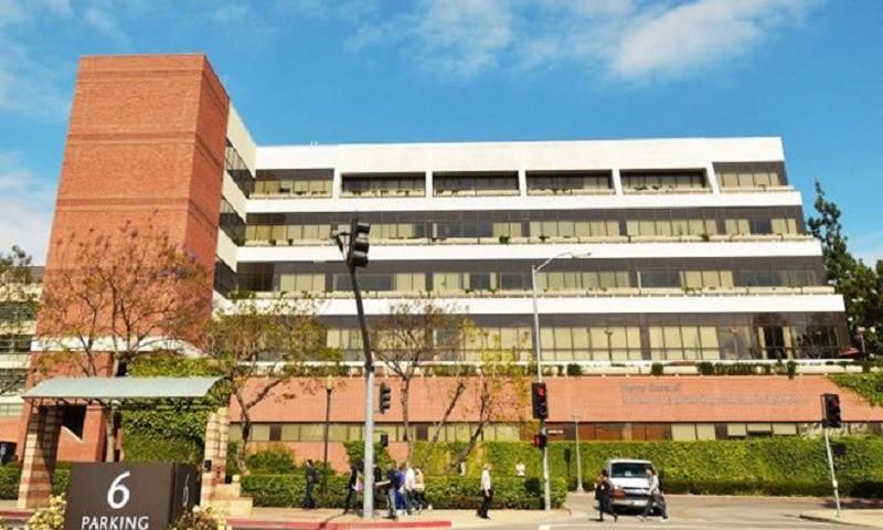 Ngôi trường mà Yi-Chi Shih làm việc trước khi bị bắt.