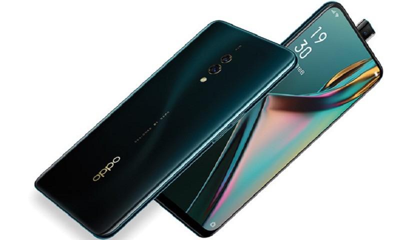 Oppo ra mắt điện thoại K3 trang bị camera dạng trượt