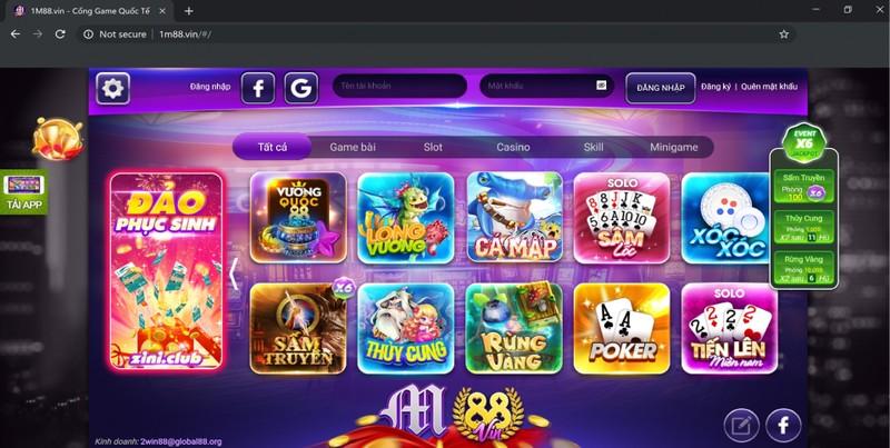 Trang đánh bạc trá hình Gamvip.com
