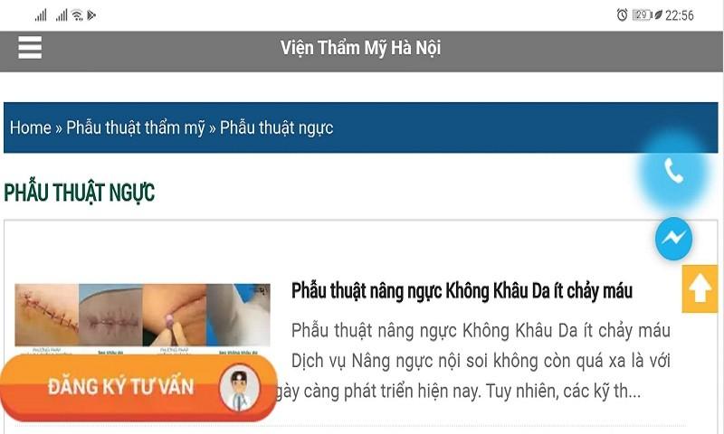 """Viện thẩm mỹ Hà Nội """"coi thường"""" quyết định xử phạt của Sở Y tế TP Hà Nội"""