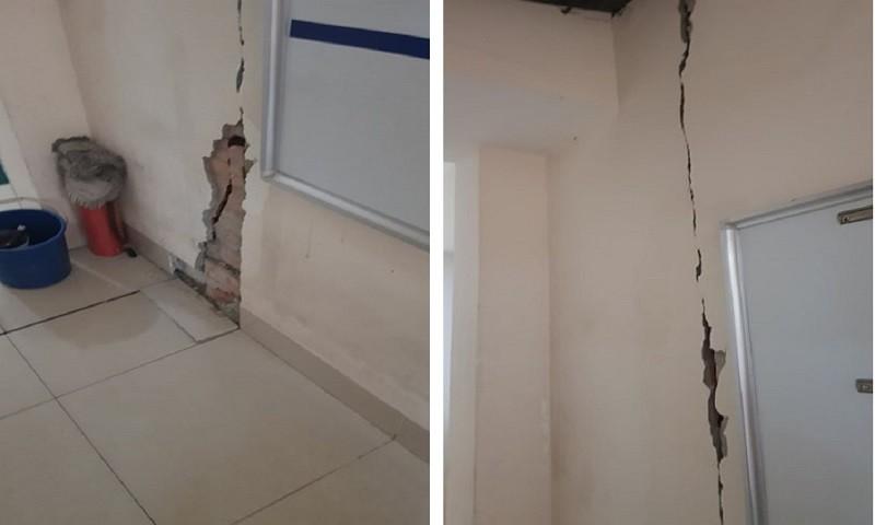Hà Nội: Doanh nghiệp xây dựng gây lún nứt nhà hàng xóm đã bồi thường cho người bị thiệt hại