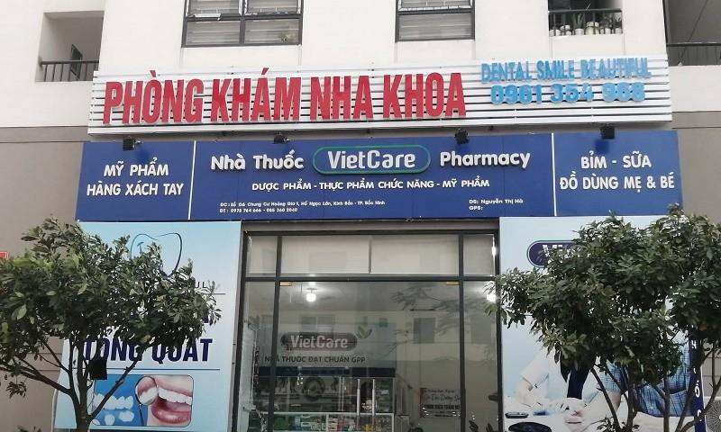 Một trong nhiều phòng khám hoạt động không phép trên địa bàn TP Bắc Ninh.