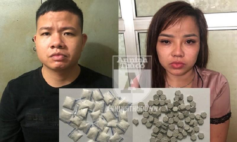 """Thanh niên bị bắt trong chung cư rủ bạn gái cùng """"chơi"""" ma túy"""