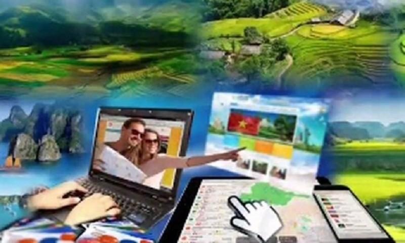 Đưa công nghệ số để phát triển du lịch.