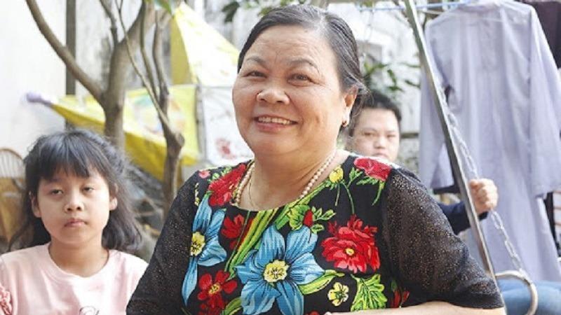 Bà Đoàn Thị Hoa– người thành lập Trung tâm dạy nghề từ thiện Quỳnh Hoa.
