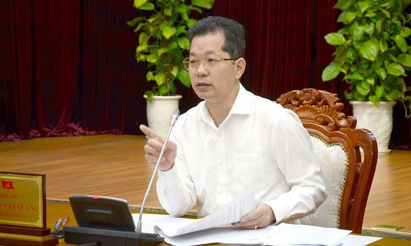 Bí thư Thành ủy Đà Nẵng Nguyễn Văn Quảng.