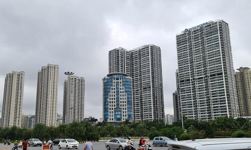 Giá căn hộ tại Hà Nội rất cao so với thu nhập trung bình của người dân. Ảnh minh họa