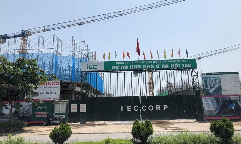Dự án Khu nhà ở xã hội IEC nằm giữa trung tâm hành chính huyện Thanh Trì, cách bến xe Nước Ngầm chỉ hơn 1km, dự án với gần 1.200 căn hộ đang làm sốt thị trường BĐS phía Nam Hà Nội.