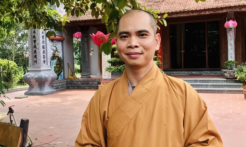 Đại đức Thích Trí Thịnh, Trụ trì chùa Kim Sơn Lạc Hồng.