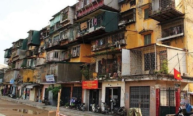"""Cải tạo chung cư cũ cần những phương án """"cách mạng"""""""