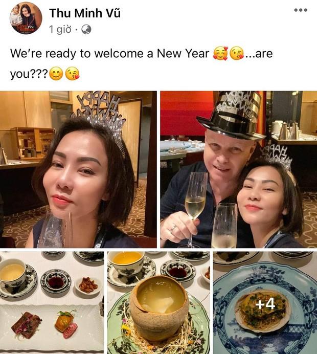Sao Vbiz đón năm mới 2021: Hương Giang - Matt Liu kề cận tình tứ, Huy Trần viết lời ngôn tình rộ nghi vấn ở bên Ngô Thanh Vân - Ảnh 7.