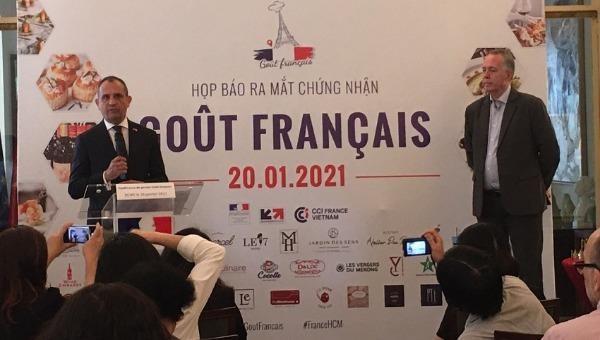 """Ra mắt chứng nhận """"Gout Francais"""" cho lĩnh vực ẩm thực Pháp"""