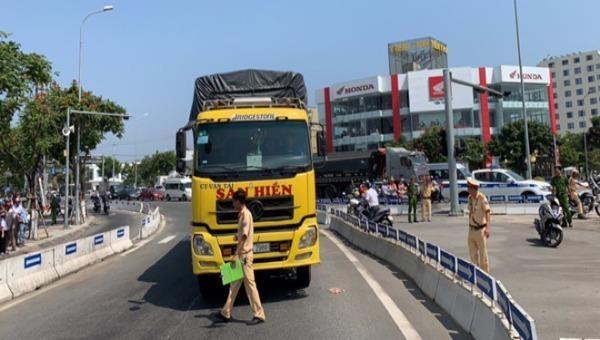 Tai nạn chết người liên quan xe tải tại Đà Nẵng