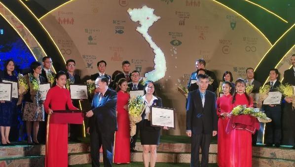 VEDAN Việt Nam được vinh danh là doanh nghiệp bền vững 2019