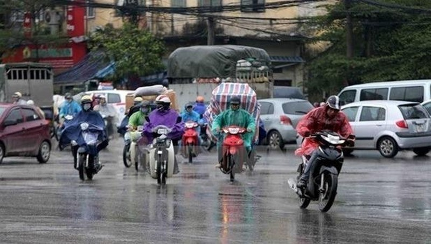 Đêm nay (18/12), không khí lạnh gây mưa ở Bắc Bộ và thủ đô Hà Nội