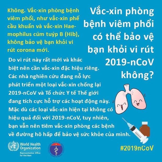 Bộ Y tế và WHO giải đáp thắc nhận bưu phẩm, thư tín có lây nhiễm virus corona hay không - Ảnh 12.