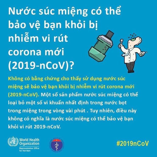 Bộ Y tế và WHO giải đáp thắc nhận bưu phẩm, thư tín có lây nhiễm virus corona hay không - Ảnh 6.