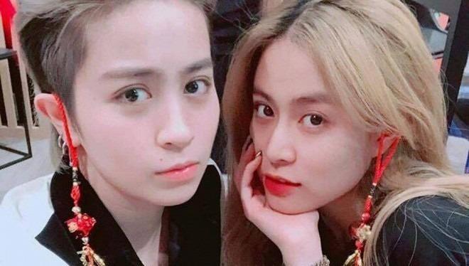 Cặp đôi Hoàng Thùy Linh và Gil Lê bị nghi sống chung một nhà