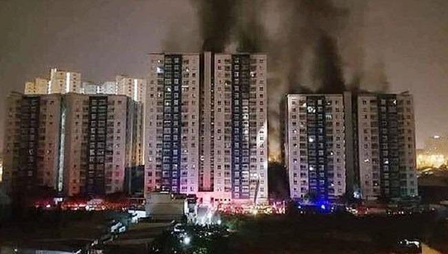 Khi cháy chung cư ai là người chịu trách nhiệm?
