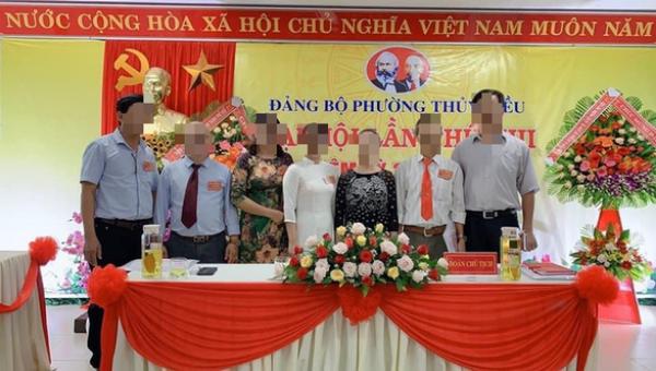 Đại hội Đảng bộ phường Thủy Biều (TP Huế) khóa XIII, nhiệm kỳ 2020 - 2025 đã để xảy ra nhiều vi phạm nghiêm trọng. Ảnh: P.H